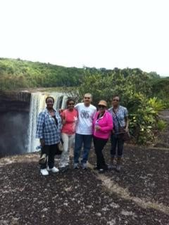 CDA 2012 group at K Falls Guyana